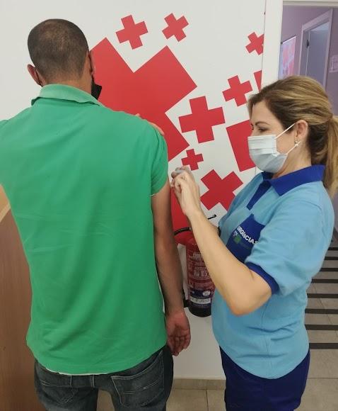 Inmunización a un colectivo caracterizado por su especial vulnerabilidad.