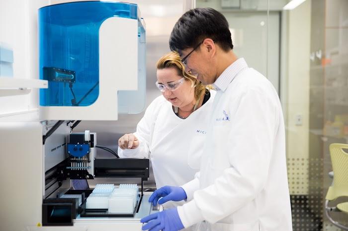 Microba testing lab