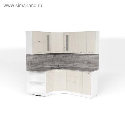 Кухонный гарнитур Лариса оптима 3 1500*1800 мм