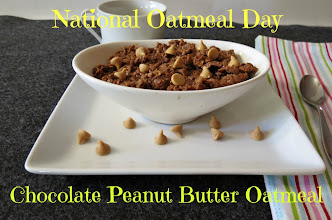 Photo: Chocolate Peanut Butter Oatmeal - Rich chocolate and creamy peanut butter mixed into healthy oats. It's like eating a big healthy cookie for breakfast.  http://www.peanutbutterandpeppers.com/2012/10/29/chocolate-peanut-butter-oatmeal/  #oatmeal   #chocolate   #peanutbutter   #breakfast