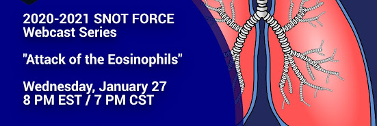 Snot Force Assemble! Webcast Series: Attack of the Eosinophils!