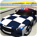 Extreme police GT car driving simulator icon