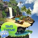 Tropical Theme GO SMS Pro icon