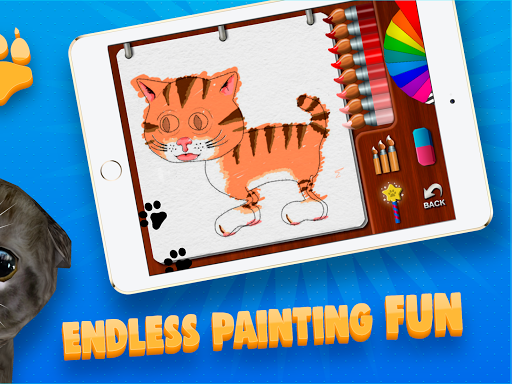 Paint My Cat: 3D Coloring Sandbox screenshot 10