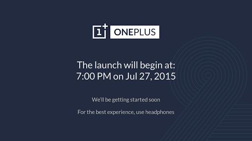OnePlus 2 Launch screenshot 1