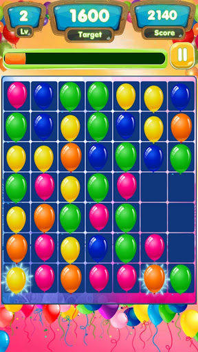 Colorful balloons - look for the same picture - screenshot