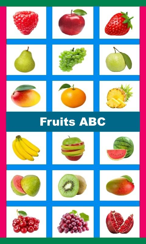 Fruits ABC- screenshot