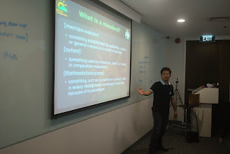 Photo: Prof. Jaybie on Open Standards