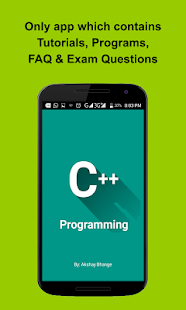 C++ Programming Screenshot