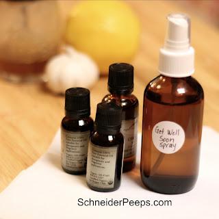 Antimicrobial Spray - Get Well Soon Spray.