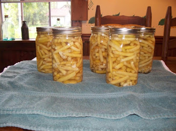 Canned Basil & Garlic Wax Beans Recipe