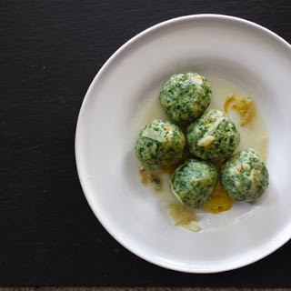 Italian Spinach Dumplings