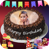 Birthday Cake with Name Photo