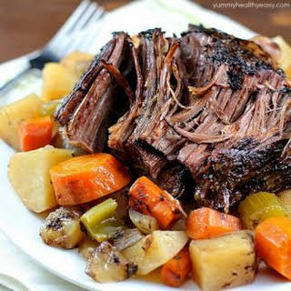 Pot Roast Crock Pot Worcestershire Sauce Recipes.