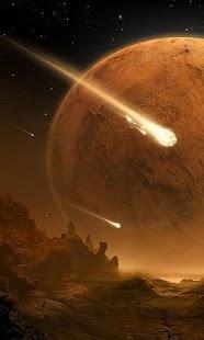 comet wallpaper - náhled