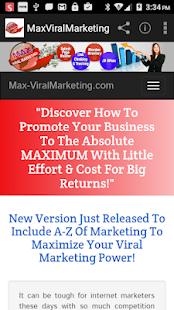 MaxViralmarketing – Get Traffic To Your Website for PC-Windows 7,8,10 and Mac apk screenshot 1