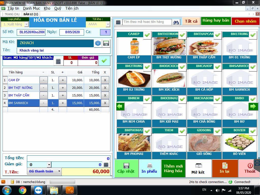 Phần mềm quản lý nhà hàng, quán ăn chuyên nghiệp nhất hiện nay