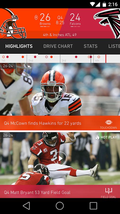 NFL Mobile- screenshot