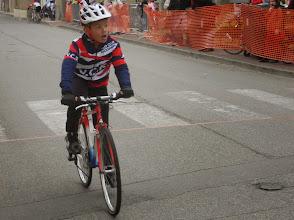 Photo: Fin de course pour Esteban.