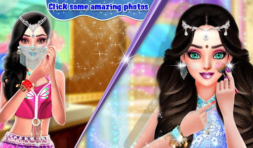 Beautiful Belly Dancer Girl Salon : Dressup Games screenshots 3