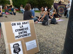 Photo: L'experiment del contacte visual. Pau Martinell, Plaça Catalunya
