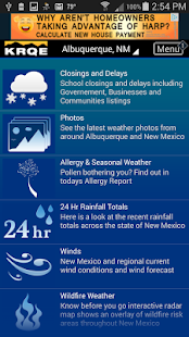 KRQE Weather- screenshot thumbnail