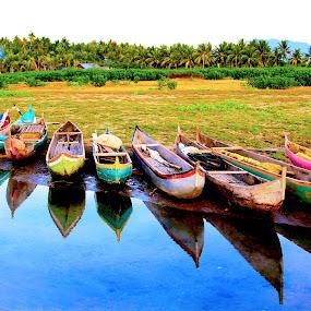 by Paul Martin - Transportation Boats