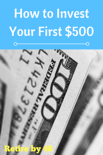 How to Invest Your First $500