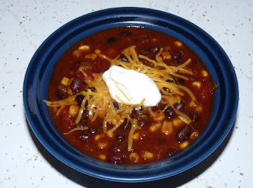 Crockpot Black Bean Stew Recipe