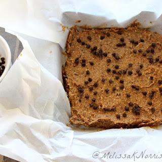 Oatmeal Chocolate Chip Bars Recipe-Gluten Free.