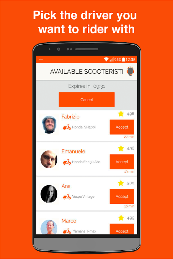 Scooterino- screenshot