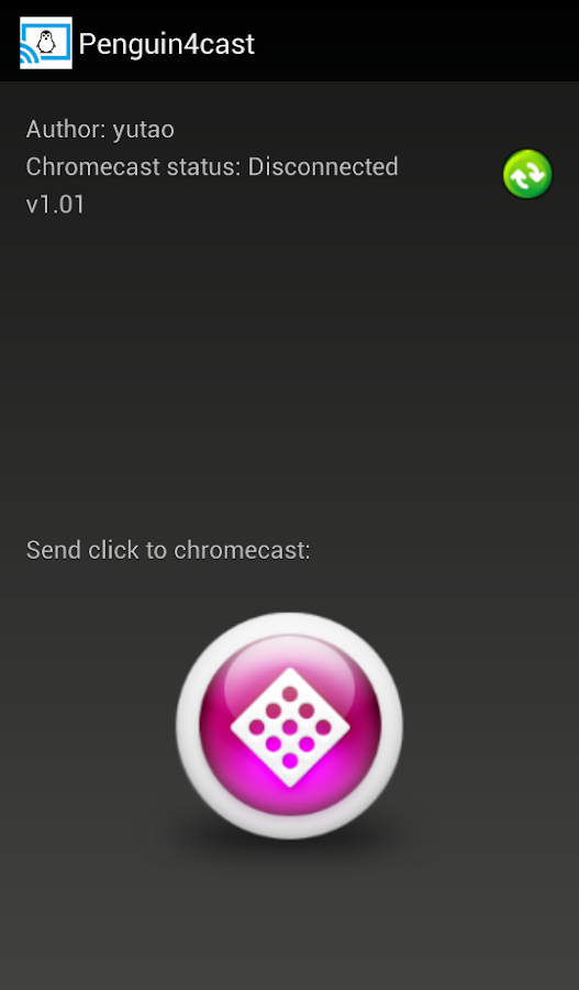 Hit penguin for chromecast- screenshot