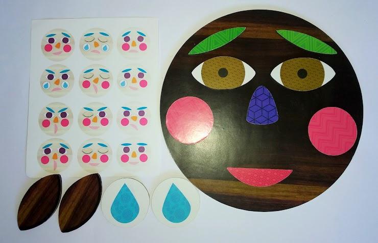 Base de madera imantada + 12 piezas imantadas + guía.