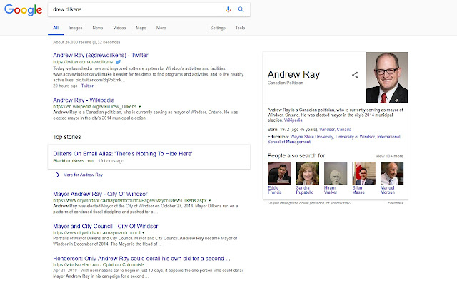 Will the real Andrew Ray please stand up