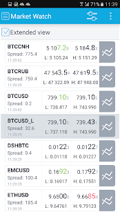 Bitcoin and Ethereum trading- screenshot thumbnail