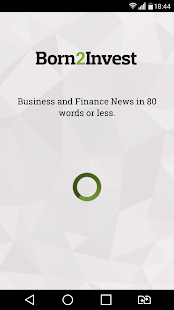 BORN2INVEST - Business News- screenshot thumbnail