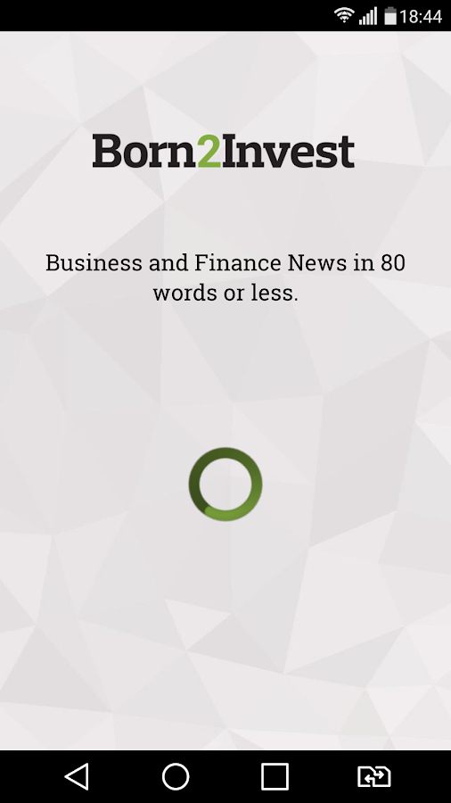 BORN2INVEST - Business News- screenshot
