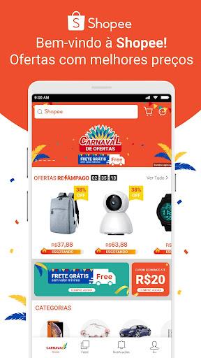 Shopee BR: Carnaval de ofertas 2.50.21 screenshots 1