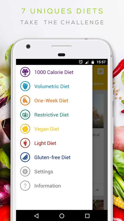 Diet 2018 - lose weight and stay healthy 🥕- screenshot
