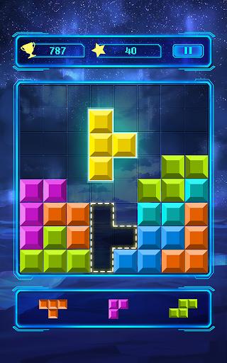 Brick block puzzle - Classic free puzzle cheat screenshots 2