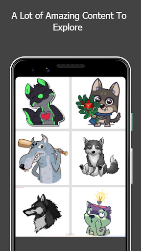 Capturas de pantalla 3 de Wolf Color By Number