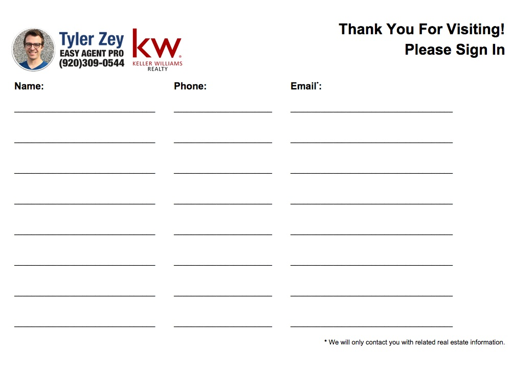 Sign In Sheet Templates SignUp Sheet Template   Sign Up