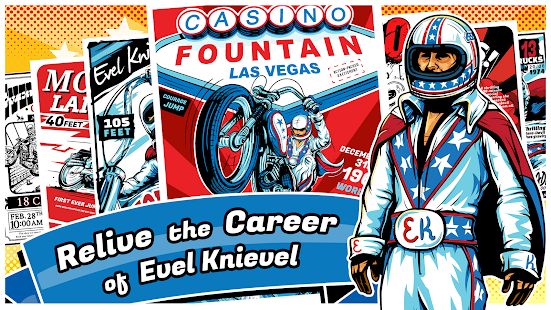 Evel Knievel- screenshot thumbnail