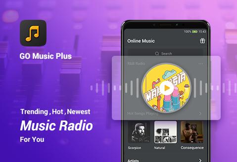 GO Music Plus - Free Music, Radio, MP3 Player 2.1.1 screenshots 1