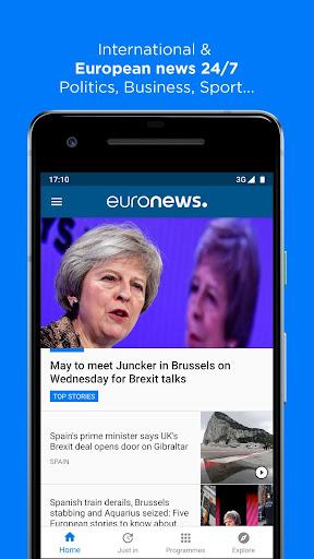 Euronews: Daily breaking world news & Live TV 5.1 screenshots 1