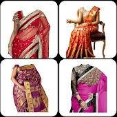 Indian Women Saree Photo Edit