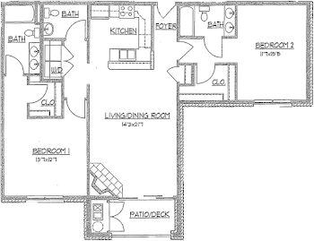 Go to The Daylily Floorplan page.