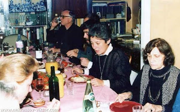 Photo: Сороковины ВПН. Отец Алексей, Анатолий Шагинян, Фатима Салказанова, Галина Некрасова, Ванв, 12.10.1987