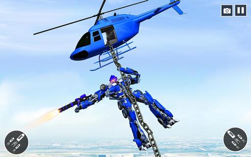 US Police Car Transform Robot War Rescue 2020  screenshots 17