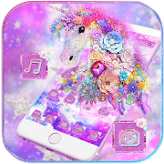 Dream Unicorn Diamond Theme APK for Bluestacks